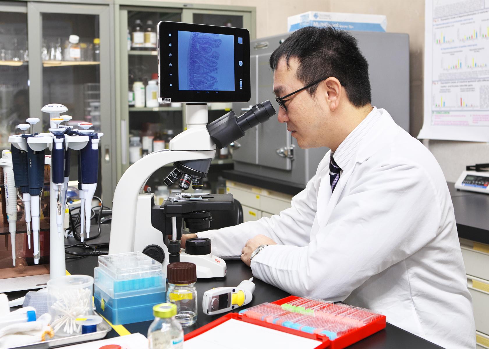 小腸機能の基礎研究に加え、 「...